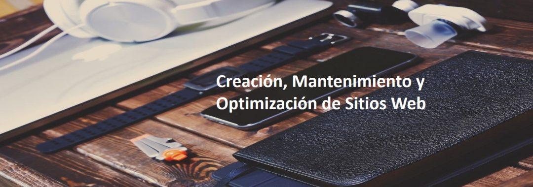 Creacion Mantenimiento Optimizacion de Sitios Web